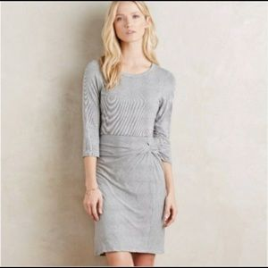 Amadi for Anthropologie rouched dress